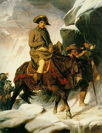 Paul Delaroche | Napoleon Crossing the Alps, 1850 | Giclée Canvas Print