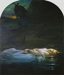 Paul Delaroche | The Young Martyr, 1855 | Giclée Canvas Print