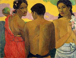 Gauguin | Three Tahitians | Giclée Canvas Print