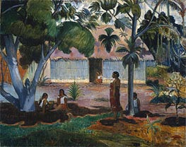 Gauguin | The Large Tree (Te raau rahi) | Giclée Canvas Print