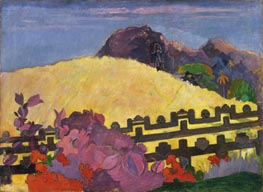 Gauguin | The Sacred Mountain (Parahi Te Marae) | Giclée Canvas Print
