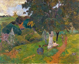 Gauguin | Coming and Going, Martinique | Giclée Canvas Print