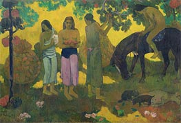 Gauguin | Rupe Rupe (Fruit Gathering) | Giclée Canvas Print
