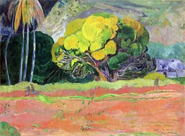 Gauguin | Fatata te Moua (At the Foot of the Mountain), 1892 | Giclée Canvas Print