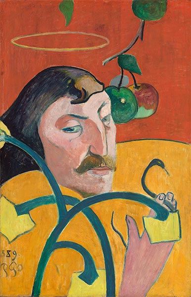 Self-Portrait, 1889 | Gauguin | Painting Reproduction