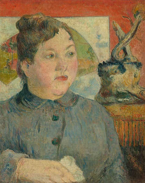 Madame Alexandre Kohler, c.1887/88 | Gauguin | Painting Reproduction