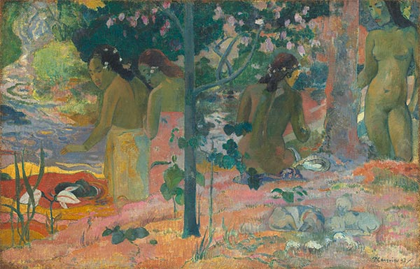The Bathers, 1897 | Gauguin | Painting Reproduction