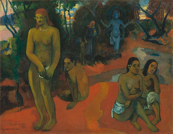Te Pape Nave Nave (Delectable Waters), 1898 | Gauguin | Giclée Canvas Print