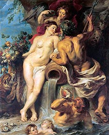 Rubens | The Union of Earth and Water | Giclée Canvas Print