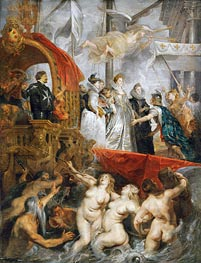 Rubens | The Arrival of Marie de Medici in Marseilles, 3rd November 1600 | Giclée Canvas Print