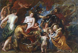 Rubens | Minerva Protects Pax from Mars (Peace and War) | Giclée Canvas Print