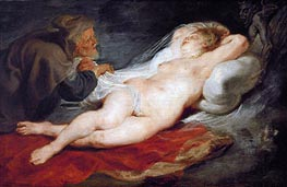 Rubens   Angelica and the Hermit   Giclée Canvas Print