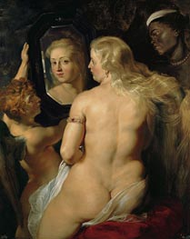 Rubens   Venus in Front of the Mirror, c.1613/14 by   Giclée Canvas Print