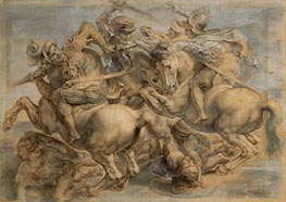 Rubens | Battle of Anghiari | Giclée Canvas Print
