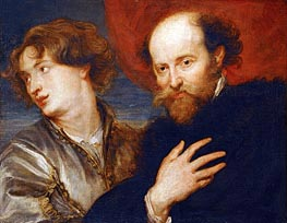 Rubens | Double Portrait of van Dyck and Rubens | Giclée Canvas Print