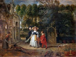 Rubens | Rubens and His Wife Helene Fourment in the Garden | Giclée Canvas Print
