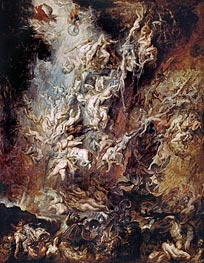Rubens | The Fall of the Damned | Giclée Canvas Print