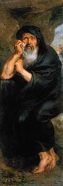Rubens | Heraclitus (The Crying Philosopher) | Giclée Canvas Print