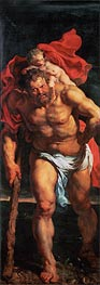 Rubens | Saint Christopher (Descent from Cross Altarpiece - Closed Left Side) | Giclée Canvas Print