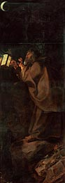 Rubens   Hermit (Descent from Cross Altarpiece - Closed Right Side), c.1611/14   Giclée Canvas Print