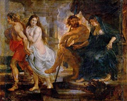 Rubens | Orpheus and Euridice with Pluto and Proserpina | Giclée Canvas Print