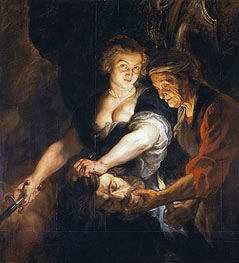 Rubens   Judith with the Head of Holofernes, c.1616   Giclée Canvas Print