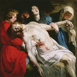 Rubens | The Entombment | Giclée Canvas Print