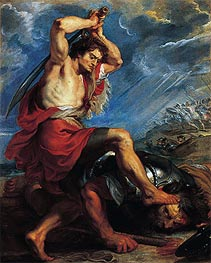 Rubens | David Slaying Goliath | Giclée Canvas Print