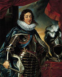 Rubens | Portrait of Louis XIII, King of France | Giclée Canvas Print