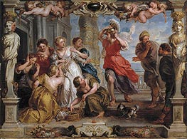 Rubens | Achilles Discovered by Ulysses Among the Daughters of Lycomedes | Giclée Canvas Print