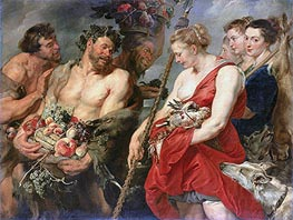 Rubens | Diana Returning from the Hunt | Giclée Canvas Print