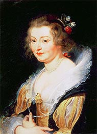 Rubens | Portrait of Catherine Manners, Duchess of Buckingham, c.1625/30 | Giclée Canvas Print