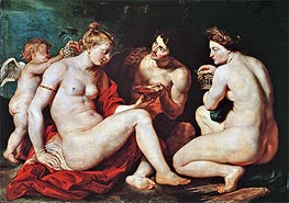 Rubens | Venus, Cupid, Bacchus and Ceres | Giclée Canvas Print