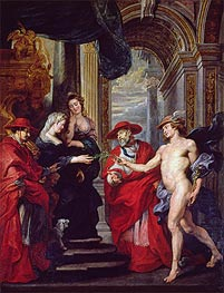 Rubens | The Treaty of Angouleme (The Medici Cycle) | Giclée Canvas Print