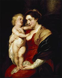 Rubens | The Madonna and Child | Giclée Canvas Print