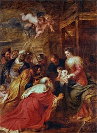 Rubens | Adoration of the Kings, c.1633/34 | Giclée Canvas Print