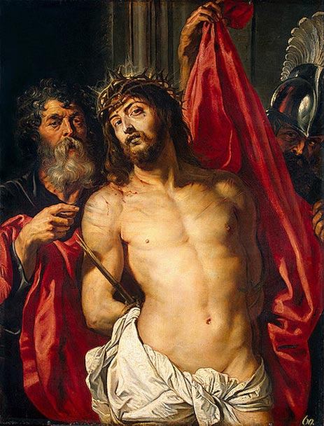 Rubens | The Crown of Thorns (Ecce Homo), c.1612 | Giclée Canvas Print