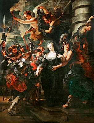 Rubens | Marie de Medici Escaping from Blois, 21st-22nd February 1619 (The Medici  Cycle) | Giclée Canvas Print 13790 | TopArtPrint