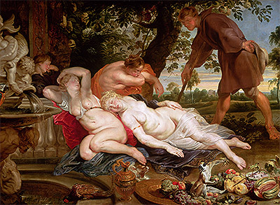 Cimon and Iphigenia, c.1617 | Rubens | Giclée Canvas Print