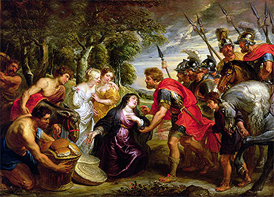 The Meeting of David and Abigail, c.1625/28 | Rubens | Giclée Canvas Print