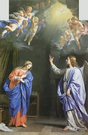 Philippe de Champaigne | The Annunciation | Giclée Canvas Print