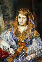 Renoir | Madame Clementine Stora in Algerian Dress | Giclée Canvas Print