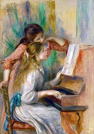 Renoir | Young Girls at the Piano | Giclée Canvas Print