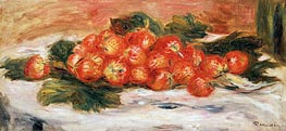 Renoir | Strawberries on a White Tablecloth, undated | Giclée Canvas Print