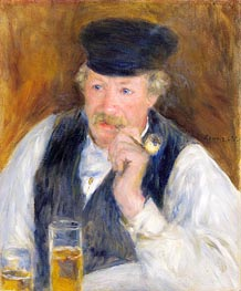 Renoir | Monsieur Fournaise (Man with a Pipe) | Giclée Canvas Print