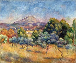 Renoir | Sainte-Victoire Mountain | Giclée Canvas Print