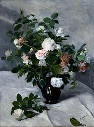 Renoir | Still Life with Roses | Giclée Canvas Print
