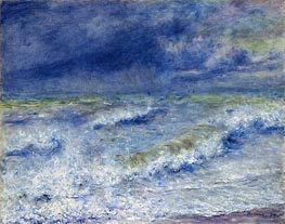 Renoir | Seascape (The Wave) | Giclée Canvas Print