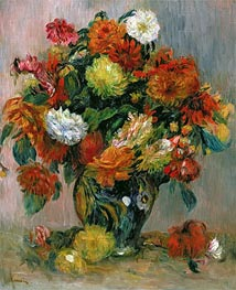 Renoir | Vase of Flowers, c.1884 | Giclée Canvas Print