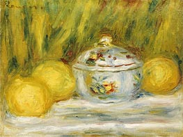 Renoir | Sugar Bowl and Lemons, 1915 | Giclée Canvas Print